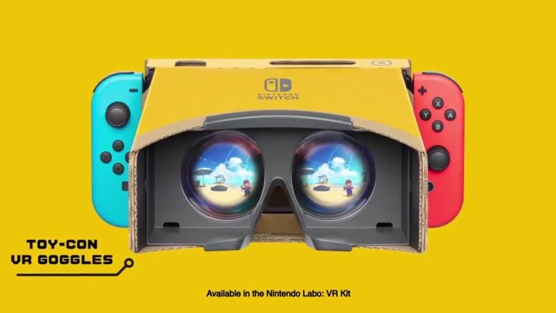 任天堂为Mario和Zelda Games增加了实验室VR支持