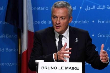 Le Maire说 法国准备应对激进主义基金