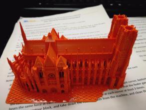 在兰斯 用3D打印的混凝土墙用于社会住房