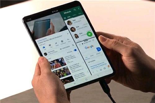 对于一些早期用户来说 Galaxy Fold屏幕已经破裂