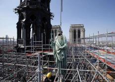 如何捐赠巴黎圣母院的救援工作