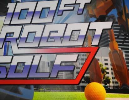 索尼在PSX上为PlayStation VR首次推出100英尺机器人高尔夫