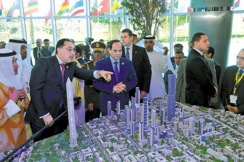 总理穆斯塔法·马德布利举行会议 制定一项促进美国在埃及投资的计划