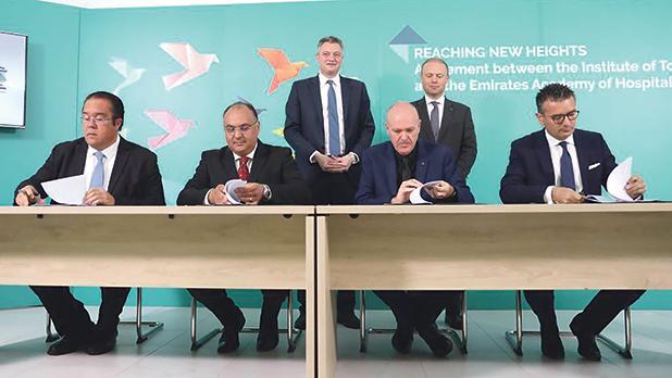 ITS与阿联酋酒店管理学院签署协议
