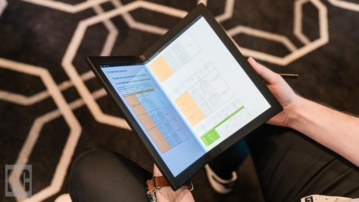 联想的ThinkPad X1可折叠PC可能成为未来的笔记本电脑