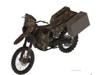 看看Darpa正在测试的这款静音混合动力电动军用摩托车