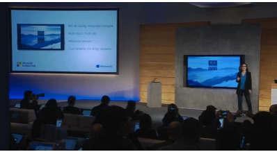 微软宣布推出Surface Hub这是一款带有笔输入双摄像头和麦克风阵列的84英寸4K显示器