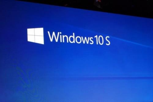 Windows 10 S是微软Windows操作系统的最新版本