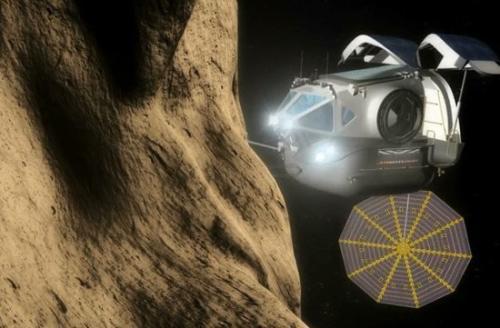 小行星采矿距离不到一百万英里