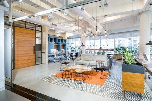 Praxis完成了大量的区域办公室租赁