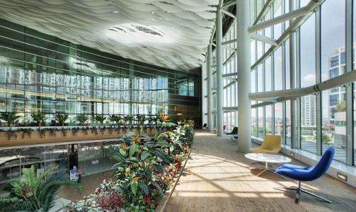 Hambridge以现代的色彩和精致的眼光接近建筑和室内设计