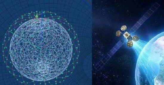 使用物流方法维护大规模卫星星座