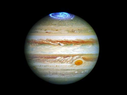 交替电流导致木星的极光