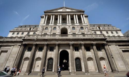 桑德斯表示 英国央行并没有将预测与提出加息联系起来