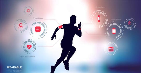 柔软的可穿戴健康监视器使用可拉伸的电子设备