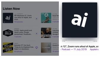 Apple的Podcasts应用程序引入了新的内容类别