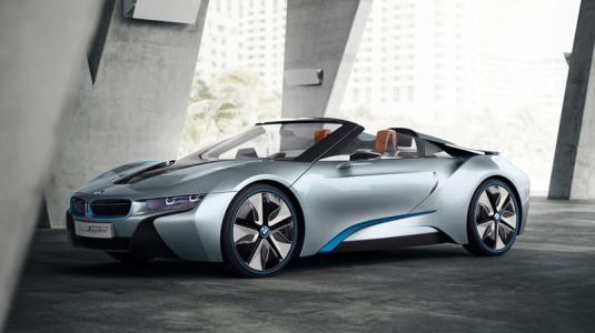 Rinspeed Etos是一款BMW i8自行驾驶并配备无人机