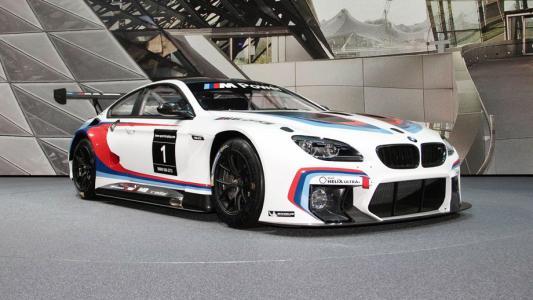 宝马选择两位艺术家创作M6 GT3艺术车