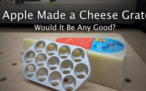 YouTuber证明新的Mac Pro并不是很棒的奶酪刨丝器