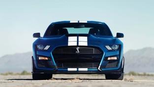 2020年福特野马谢尔比GT500确认为760马力和625磅英尺