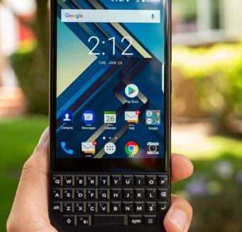 BlackBerry KEY3可能会在某个时候出现 但不要指望5G连接