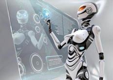 福特装配厂的协作机器人帮助工人