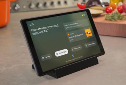 Google Assistant环境模式可将某些手机 平板电脑转变为智能显示器