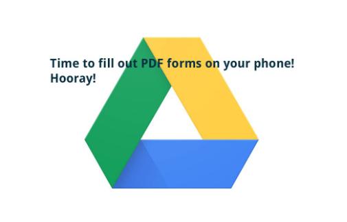 使用Google云端硬盘和G-Suite启用移动PDF编辑