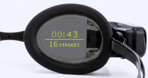 表格游泳护目镜可智能显示AR活动数据