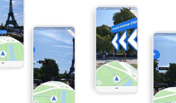 Google Maps神奇的实时取景本周向iOS开放