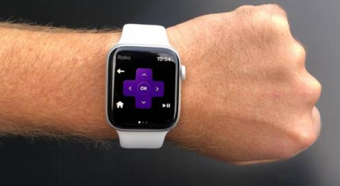 Roku将其远程控制应用程序引入Apple Watch