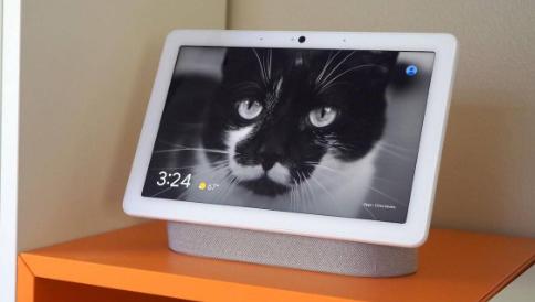 Nest Hub Nest Hub Max超声波传感器会在您靠近时改变UI