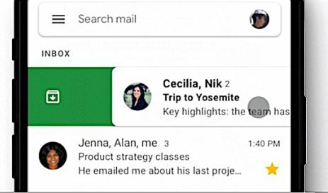 iOS上的Gmail终于有了可自定义的滑动操作