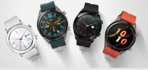 华为Watch GT增加了Active和Elegant版本以提供更多选择