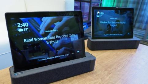 联想Smart Tabs可让您随身携带Amazon Alexa