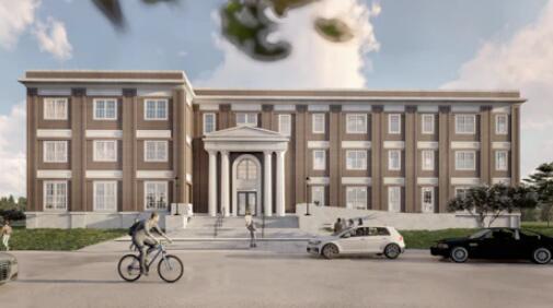 南部卫理公会大学正在为高年级学生建造一个新的学生住房项目