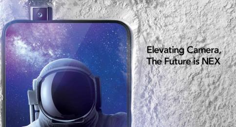 Vivo NEX及其升降相机现已正式上市