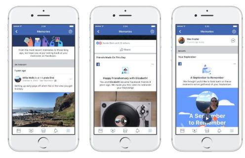 Facebook回忆显示Facebook对您了解多少