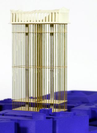 RCA毕业生Kit Stiby Harris说帕台农神庙可能会搬到伦敦