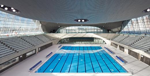为扎哈·哈迪德的水上运动中心设计必须像地狱般战斗