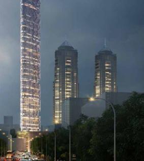 哈利法塔建筑师说冲突和金融动荡将使巨型摩天大楼停滞不前