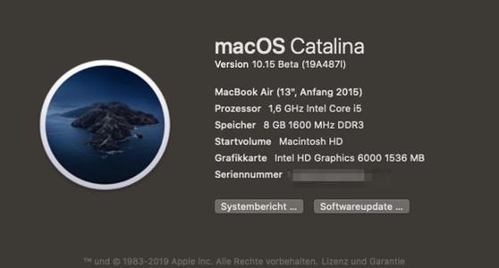 macOSCatalina的主要新元素之一是对Catalyst应用程序的支持