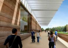 FosterPartners的罗马历史博物馆在法国南部开始建设
