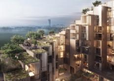 BIG设计公司在斯德哥尔摩进行79和公园住宅开发