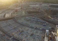 无人机电影显示FosterPartners的AppleCampus2开始崭露头角