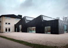 PrimusArkitekter将弗里茨汉森工厂改造成图书馆和文化中心