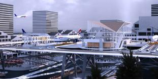 斯德哥尔摩机场提案在城市屋顶之间提升跑道