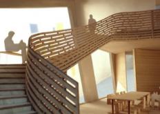 由史蒂文霍尔设计的位于伦敦最古老的医院的玛吉中心开始建设