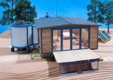 普罗韦设计的6x6可拆卸房屋迈阿密巴塞尔