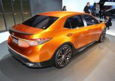 丰田花冠Furia概念车在底特律车展上首次亮相